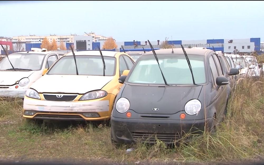 Автомобили в ожидании утилизации